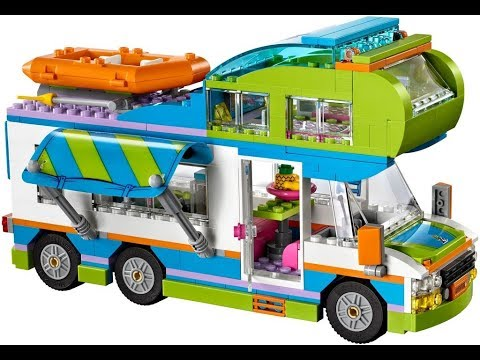 Lego Friends Mia S Camper Van 41339 Stop Motion Build Review Youtube