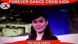 BALLET KIDS DANCE ANAK INDONESIA MORNING SHOW NET TV - FOREVER DANCE CREW KIDS