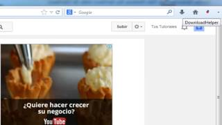 Descargar videos de Youtube Gratis con Downloadhelper 2014