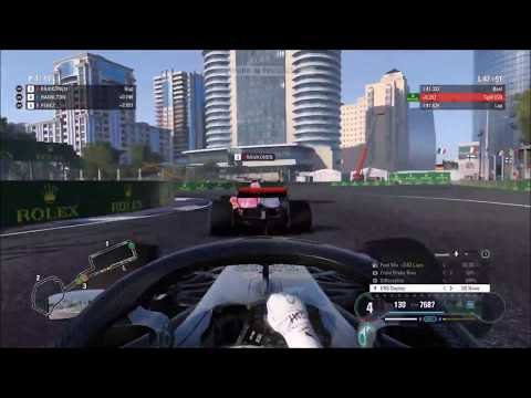 The Fastest F1 Esports Driver At Baku