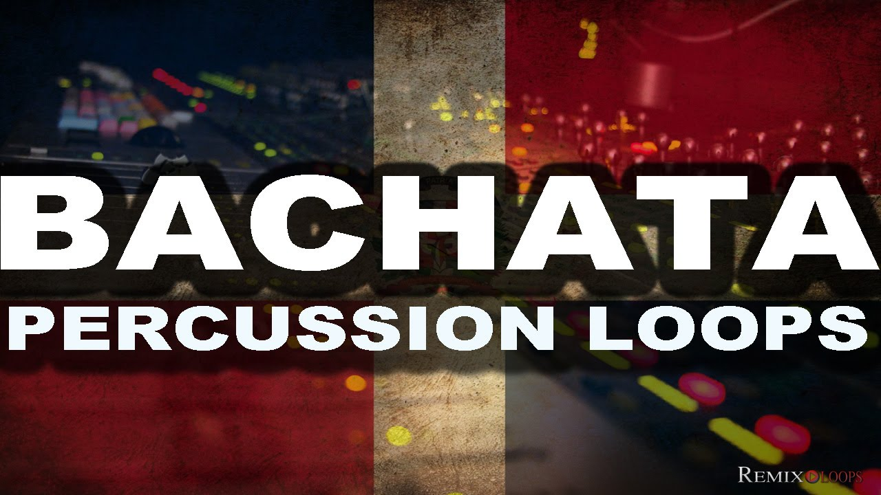 Bachata Percussion Loops for music production - Bachata Samples