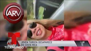 Búsqueda desesperada de venezolana perdida en Costa Rica | Al Rojo Vivo | Telemundo