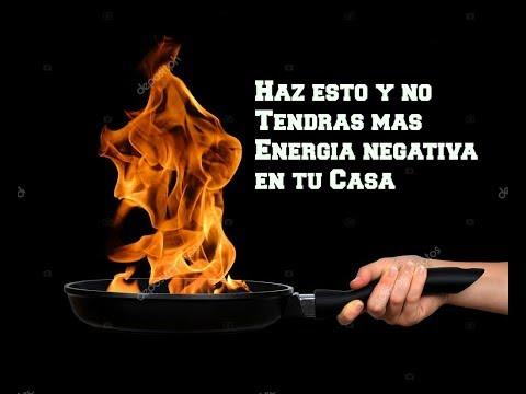 Haz esto y no Tendrás mas Energía Negativa en tu Casa