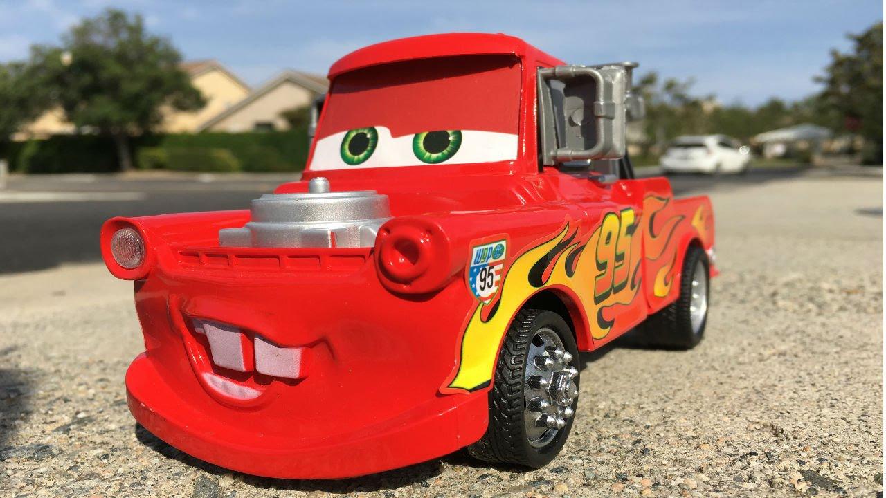Disney Cars Toys Youtube: Disney Cars Toys Lightning McQueen Mater Egg Surprise Rayo