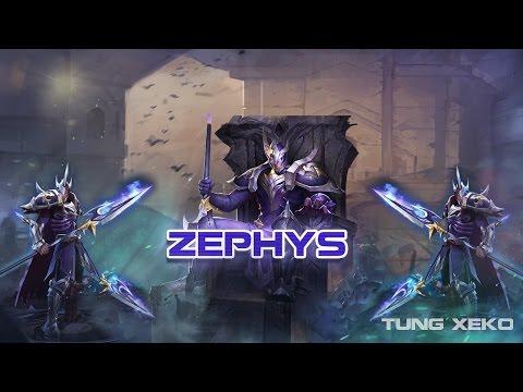 Hướng dẫn chơi Tướng Zephys - Sứ Giả Cõi Chết - Liên Quân Mobile - Strike of Kings