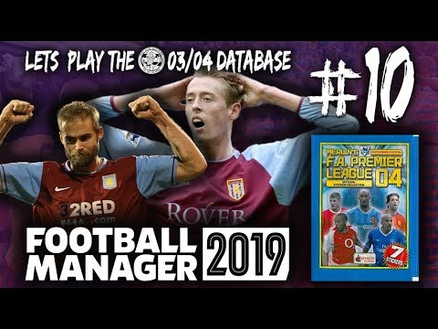 FM19 | Arsenal | 03/04 Database | #10 – The Pressure is