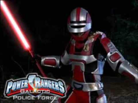 power rangers 2010 movie galactic police force official
