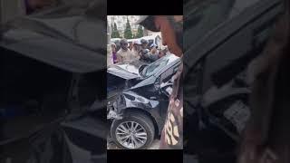 Clip hot: Thanh niên ngáo đá lái xe ô tô gây tai nạn liên hoàn tại Đà Lạt