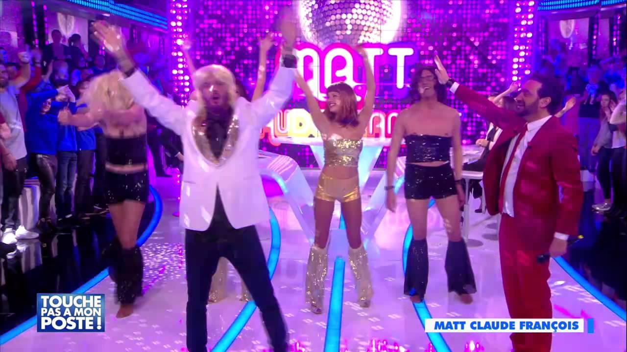 Matt Pokora chante Cloclo dans l'émission Touche Pas A Mon Poste