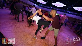 Antonio Doza & Sara Panero - Salsa Social Dancing | New York International Salsa Congress 2018
