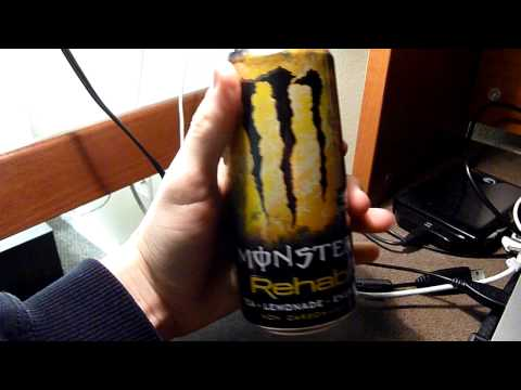 Energy Drink Review: Monster Rehab Tea and Lemonade