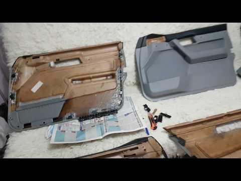 Восстановление дверных карт БМВ Е34