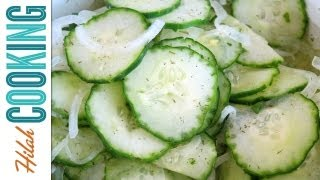Cucumber Salad Recipe - Great Potluck Side Dish!