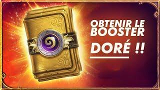 Obtenir un booster doré Hearthstone avec Twitch Prime