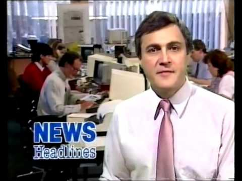 ITN News Headlines with John Suchet /9/1985 (VHS Capture)