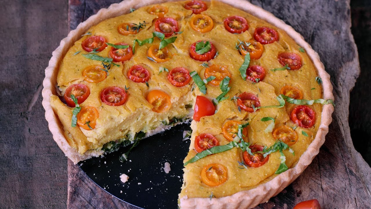 Vegan Quiche Recipe (Egg-Free, Soy-Free, No Tofu!)