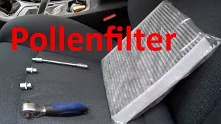 Pollenfilter wechseln Ford S-Max, Mondeo IV, Galaxy II