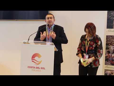 Presentación de Almáchar en Fitur 2019. Habla su alcalde, José Gámez