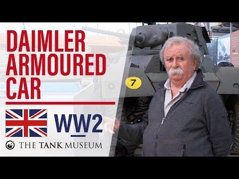 Tank Chats #37 Daimler Armoured Car