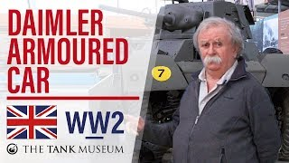 Tank Chats #37 Daimler Armoured Car | The Tank Museum
