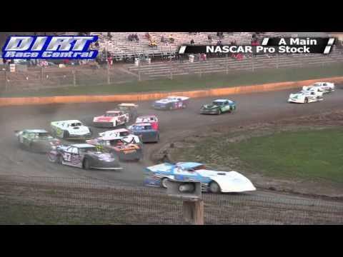 Cedar Lake Speedway 5 3 14 NASCAR Pro Stocks