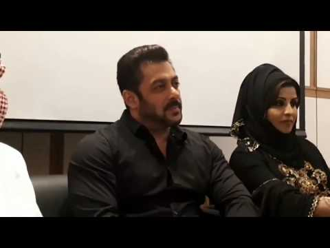 Salman Khan launched the Belhasa Driving Centre's in Dubai