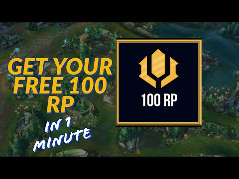GET YOUR FREE RP - LEAGUE OF LEGENDS