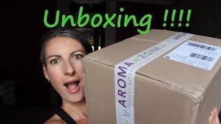Unboxing commande Aromazone !!!