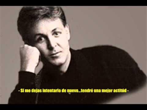 THE OTHER ME ( MI OTRO YO ) - SIR. PAUL McCARTNEY - ( TRADUCIDA ).