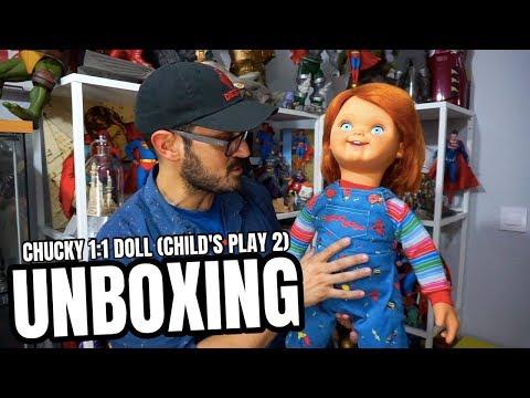 figuras de roblox en mercado libre uruguay Impresionante Chucky A Tamano Real Child S Play 2 Youtube