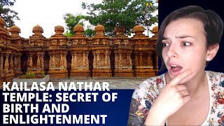 Kailasa Nathar Temple - SECRET of REBIRTH & ENLIGHTENMENT | REACTION!! | Indi Rossi