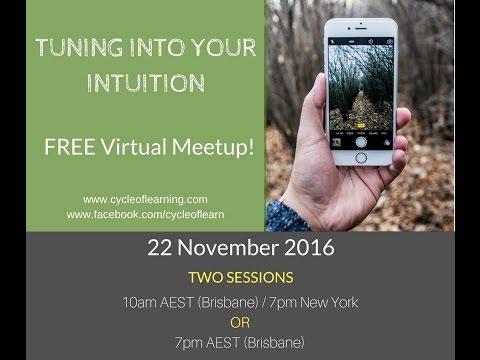 Live Recording of Free Virtual Meetup 22/11/2016