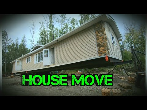 Moving our 20x76 Manufactured home to land 2020