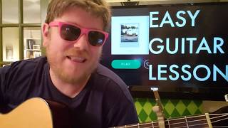 How To Play Distance Yebba  guitar lesson beginner tutorial easy chords