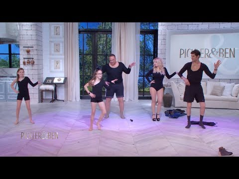 """Dad Does The """"Single Ladies"""" Dance With His Daughters - And Kellie And Ben! - Pickler & Ben"""