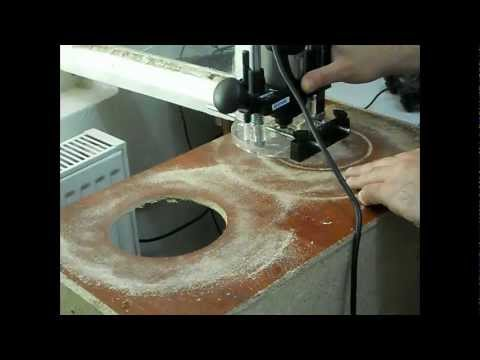 making sand blasting cabinet and using it