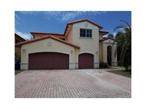 MIAMI LAKES HOME FOR SHORT SALE PRE FORECLOSURE 6 BEDROOMS 5 1/2 BATHS