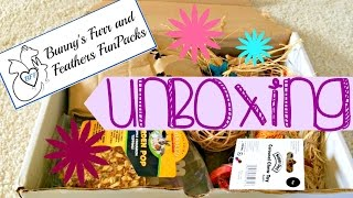 Bunny's Furr and Feathers UNBOXING! (Small Animal) Thumbnail