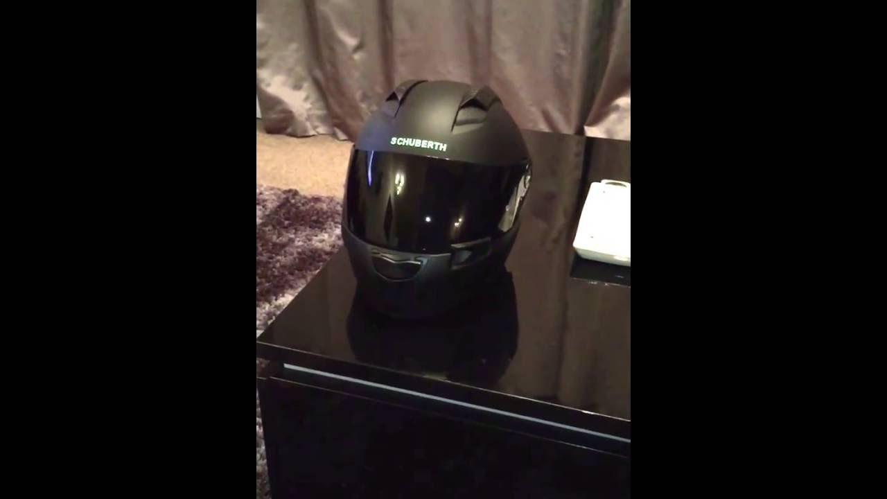 cd783dd4 Schuberth SR2 Race Helmet Visor - YouTube