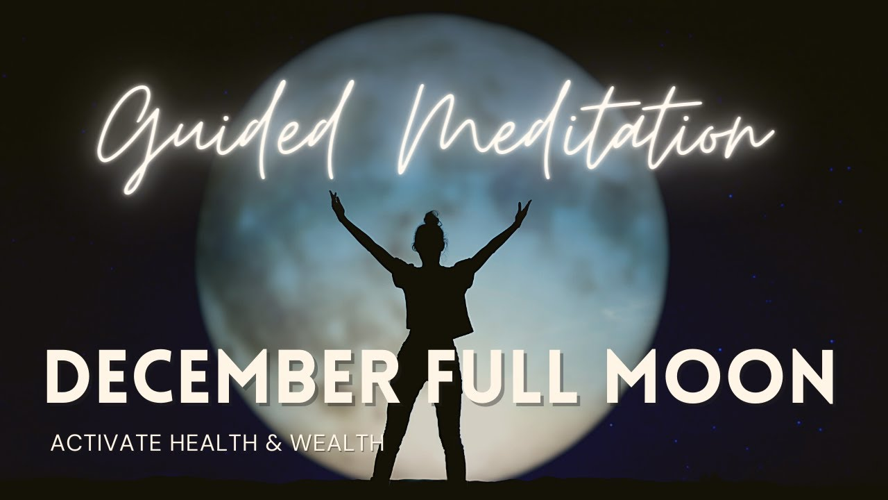 7 Ways To Harness The Healing Energy Of 2020's Final Full Moon