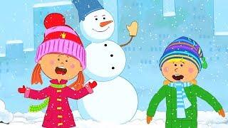 Песни для детей - Шапку Долой! Из мультика 'Жила-была Царевна' - Веселая песня мультик про зиму