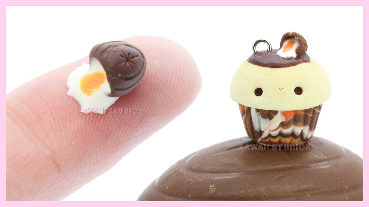Cupcake Kawaii Fimo Idee D Image De Gateau