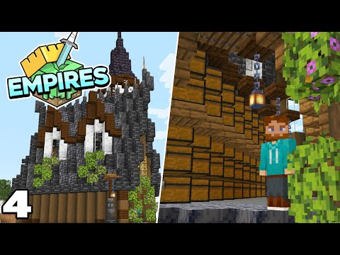 Empires SMP : Building my Storage Room! Ep 4 Minecraft 1.17 Survival Lets Play