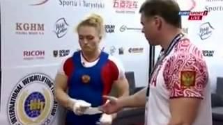 Чемпионат мира по тяжелой атлетике 2013! Женщины 69 кг! Рывок
