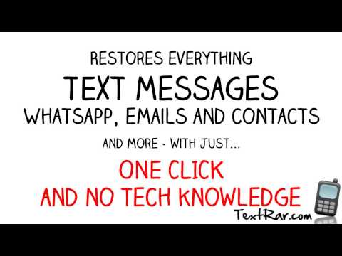 Retrieve Deleted Text Messages on Android