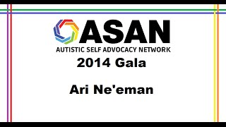 Ari Ne'eman at the 2014 ASAN Gala