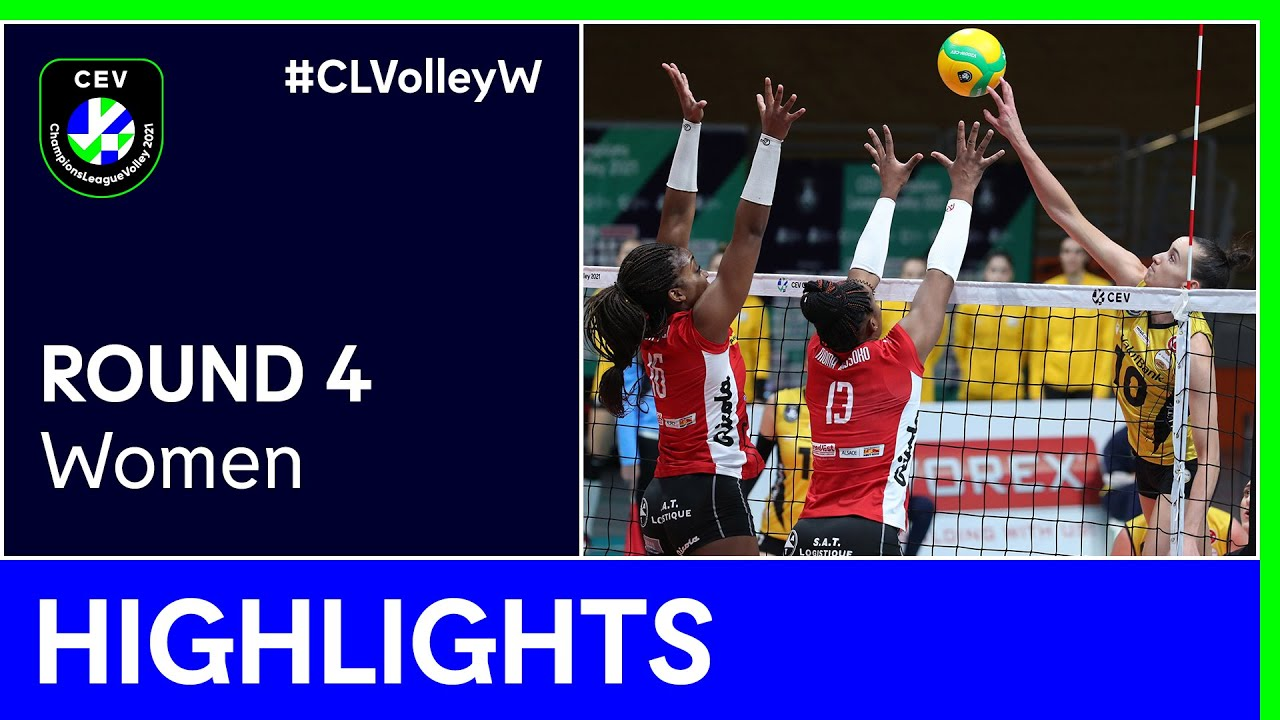 ASPTT MULHOUSE VB vs. VakifBank ISTANBUL Highlights - #CLVolleyW