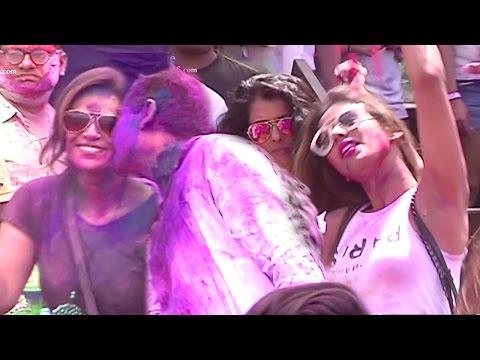 Bollywood Holi Party 2017 - Alia Bhatt,Ekta Kapoor,Mona Singh