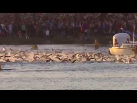 2013 IRONMAN Australia, Port Macquarie Swim Leg Highlights