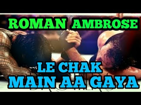 Dean saves Roman on Aa Le Chak Main Aa Gya || Punjabi song on Dean Ambrose